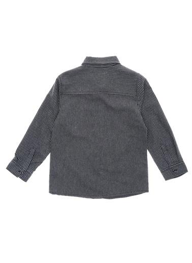 Panço Erkek Çocuk Gömlek 18212060100 Gri